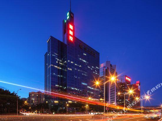 深圳中南海怡酒店外景夜景