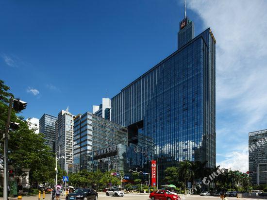 深圳中南海怡酒店外景日景