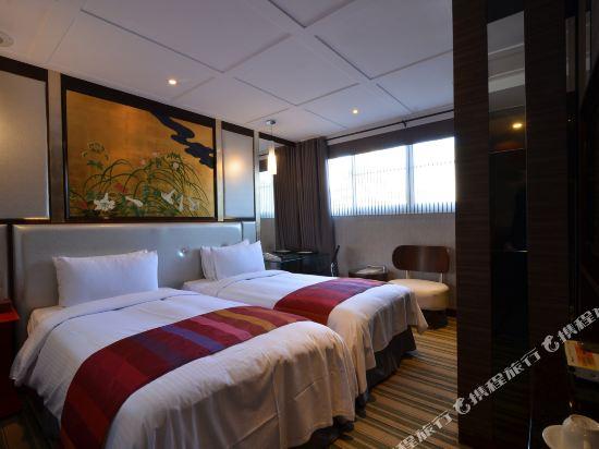 台北麗都唯客樂飯店(Rido Hotel)豪華客房雙人房