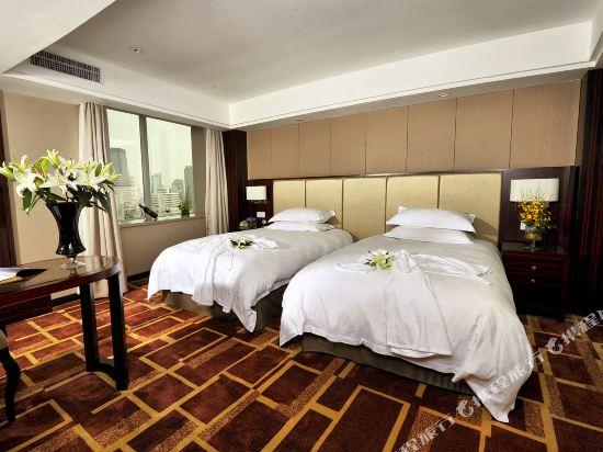 浙江大酒店(Zhejiang Grand Hotel)行政街景客房(雙床)