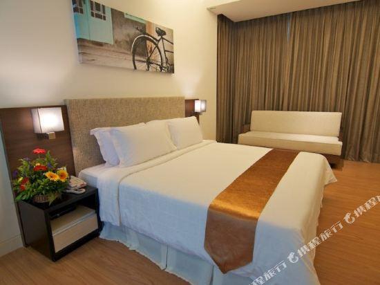 吉隆坡瑞園公寓(Swiss Garden Residences Kuala Lumpur)一居室豪華房