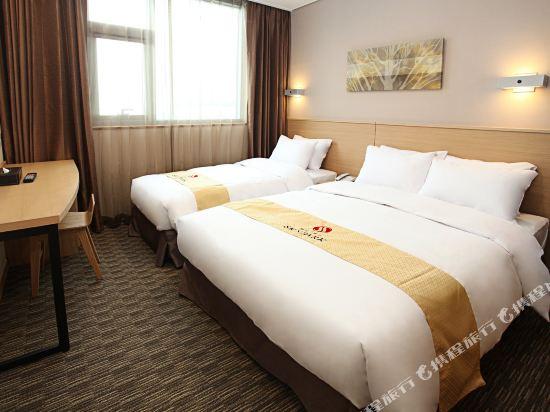 天空花園酒店東大門1號店(Hotel Skypark Dongdaemun I)1豪華雙床房