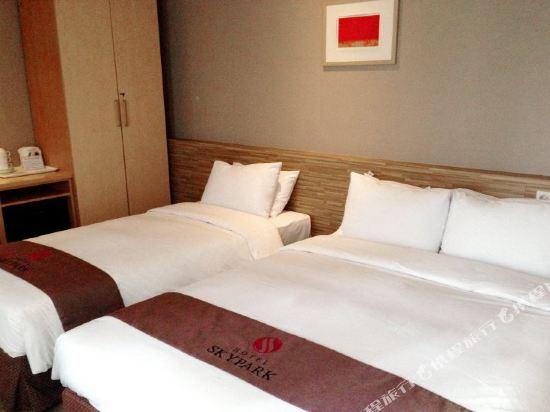 天空花園酒店明洞2號店(Hotel Skypark Myeongdong 2)豪華雙床房