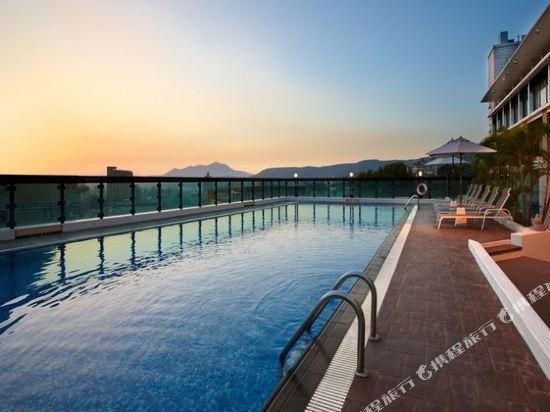 台北北投春天酒店(Spring City Resort)室外游泳池