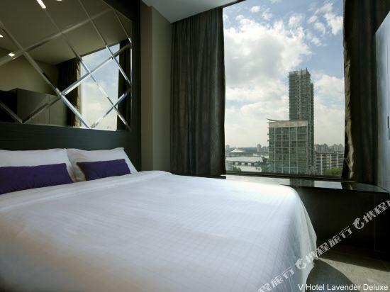 新加坡威大酒店-勞明達(V Hotel Lavender Singapore)三人間