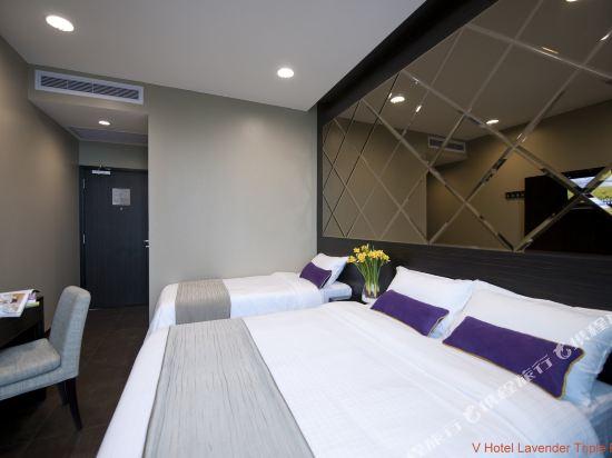 新加坡威大酒店-勞明達(V Hotel Lavender Singapore)家庭房
