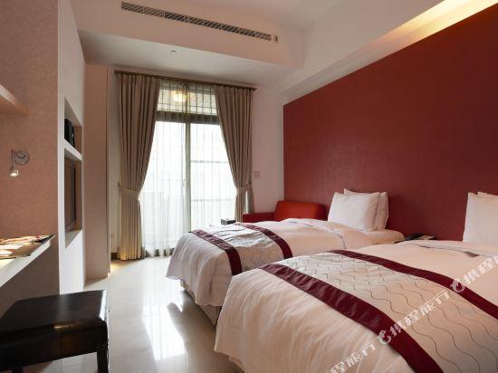 台北大師商旅(Master Hotel)標準雙人房