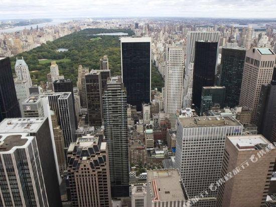 紐約市中心希爾頓酒店(New York Hilton Midtown)眺望遠景
