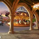 香港迪士尼樂園+太平山頂+凌霄閣一日遊(上山快捷通道+往返纜車 主題樂園)