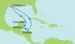 洪都拉斯+伯利兹+墨西哥
