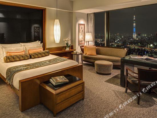 東京文華東方酒店(Mandarin Oriental Tokyo)豪華尊貴客房(特大床)