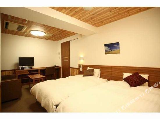 札幌多美迎PREMIUM酒店(Dormy Inn Premium Sapporo)豪華雙床房1