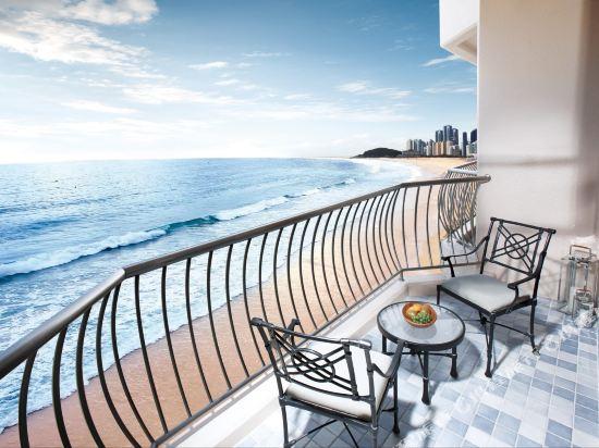 百樂達斯釜山酒店(Paradise Hotel Busan)新館豪華海景露台房