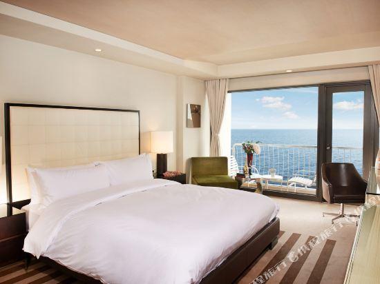 百樂達斯釜山酒店(Paradise Hotel Busan)本館豪華海景露台房