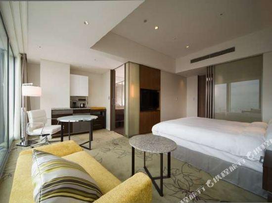 大阪萬豪都酒店(Osaka Marriott Miyako Hotel)城景高級房