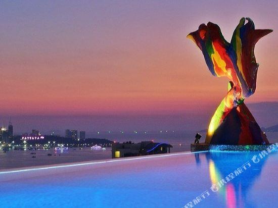 芭堤雅暹羅設計酒店(Siam@Siam Design Hotel Pattaya)眺望遠景