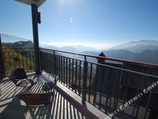 南投清境天星渡假山莊(Star Villa)高級觀星雙人房