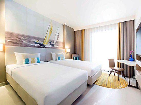 芭堤雅海洋度假美居酒店(Mercure Pattaya Ocean Resort)海景高級雙床房