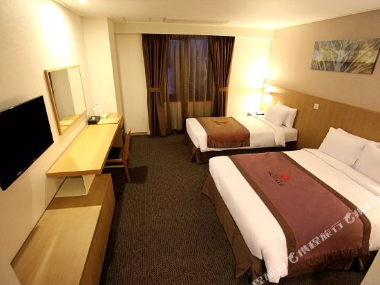 天空花園酒店濟州1號店(Hotel Skypark Jeju 1)豪華雙床房