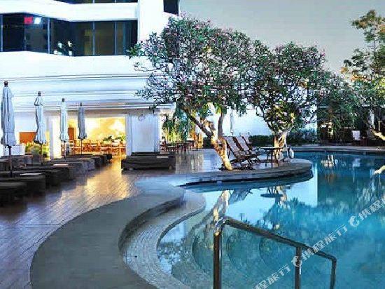 曼谷愛侶灣君悅酒店(Grand Hyatt Erawan Bangkok)室外游泳池
