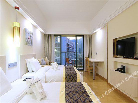 深圳途家斯維登度假公寓(東部華庭大梅沙)高級雙床房