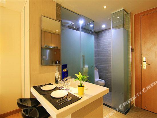 深圳途家斯維登度假公寓(東部華庭大梅沙)大床房