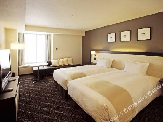 札幌格蘭大酒店(Sapporo Grand Hotel)舒適好萊塢雙床房(東樓)