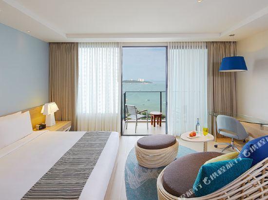 芭堤雅假日酒店(Holiday Inn Pattaya)海景行政俱樂部房
