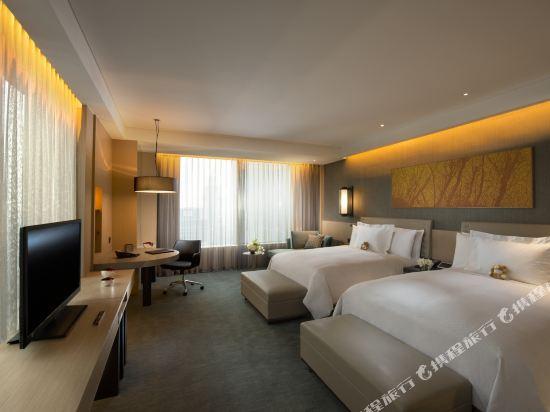 韓國首爾國際金融中心康萊德酒店(Conrad Seoul IFC Korea)城景行政2張大床房