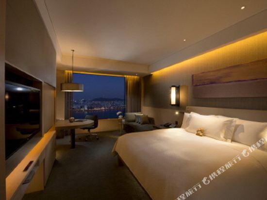 韓國首爾國際金融中心康萊德酒店(Conrad Seoul IFC Korea)河景行政特大床房