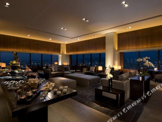 韓國首爾國際金融中心康萊德酒店(Conrad Seoul IFC Korea)河景行政2張大床房