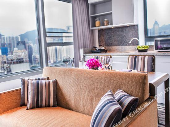 香港盛捷維園公寓酒店(Somerset Victoria Park Hongkong)豪華一房式公寓
