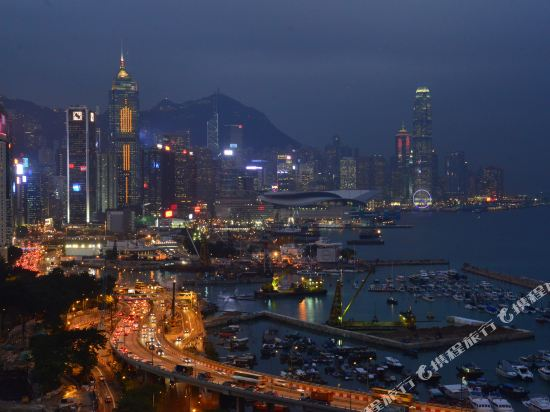 香港盛捷維園公寓酒店(Somerset Victoria Park Hongkong)眺望遠景