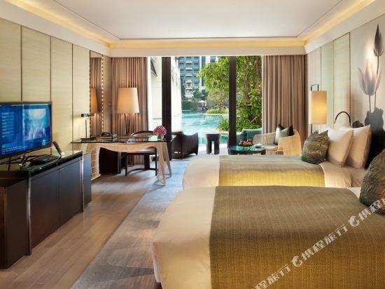 曼谷暹羅凱賓斯基酒店(Siam Kempinski Hotel Bangkok)卡巴納房