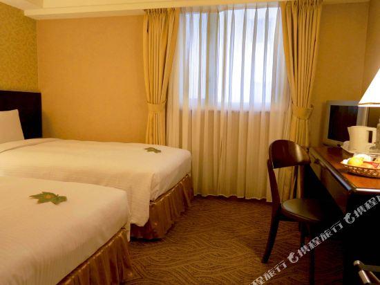 台北神旺大飯店(San Want Hotel)經濟雙床房