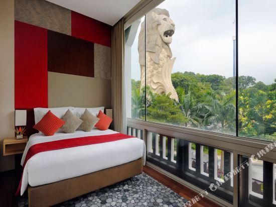 新加坡聖淘沙艾美酒店(Le Méridien Singapore, Sentosa)魚尾獅套房
