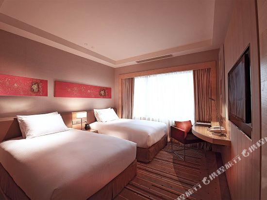 新山希爾頓逸林酒店(Doubletree by Hilton Johor Bahru)豪華兩張雙人床房