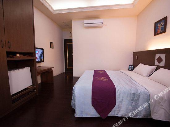 屏東墾丁大街海逸渡假旅店民宿(Haiye Guest House Hostel)海之星空_海灣小鎮雙人套房