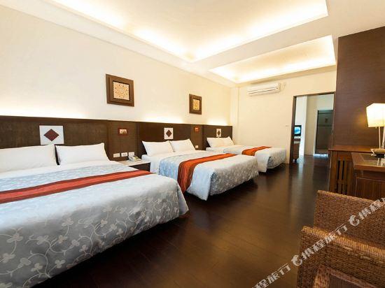 屏東墾丁大街海逸渡假旅店民宿(Haiye Guest House Hostel)海境小鎮六人套房