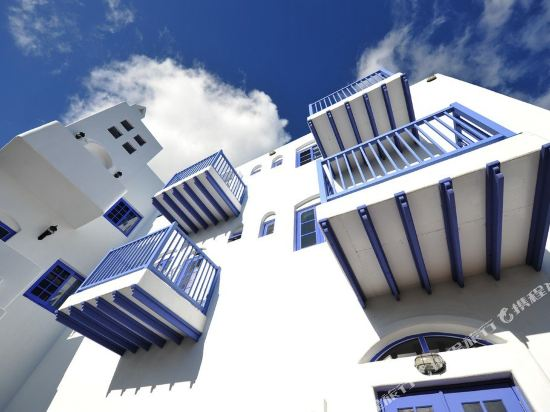 墾丁伯利恒民宿(Bethlehem Hotel Kenting)天空好藍陽台