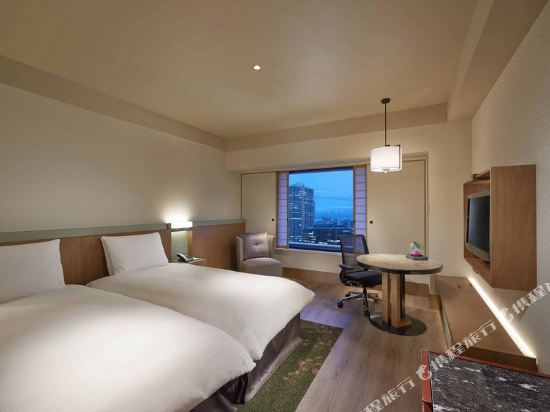 大阪希爾頓酒店(Hilton Osaka Hotel)TWIN HILTON ROOM (Display)