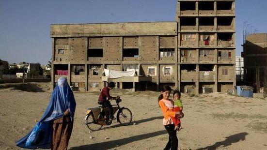 Afghanistan Refugee Camp