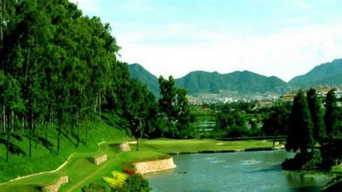 China Zhongshan Hot Spring Golf
