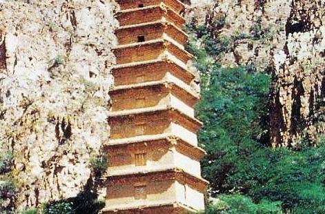拜寺口方塔遺址