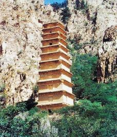 拜寺口方塔遗址-银川-半把刀