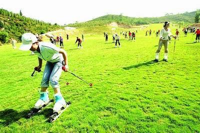 嵩山滑雪滑草場