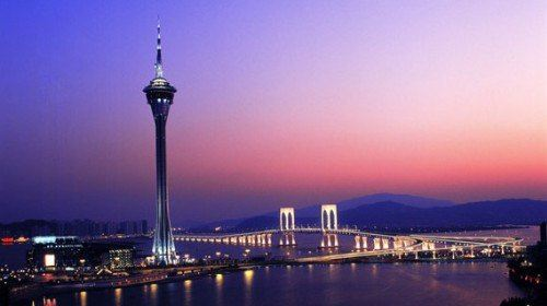 Macau Sightseeing Tower Skywalk