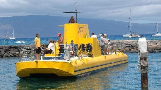 Semi-Sub Reefdancer