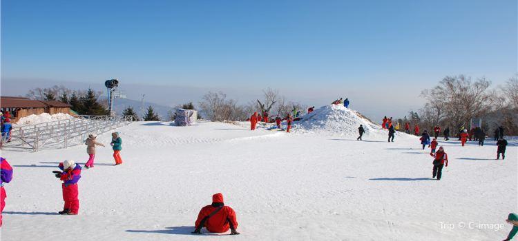 廟香山滑雪場1
