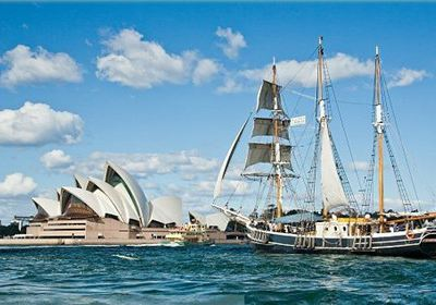 Sydney Habour Tall Ship Cruises